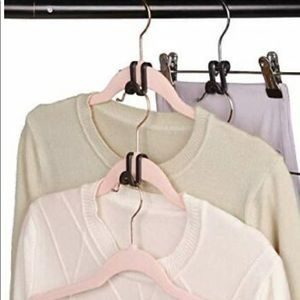 New Joy Mangano huggable hanger cascading hooks